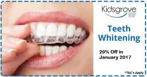 Teeth whitening voucher offer